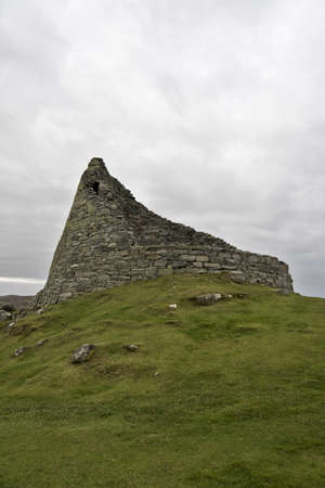 abandoning: broch: historic stone housing used in north scotland