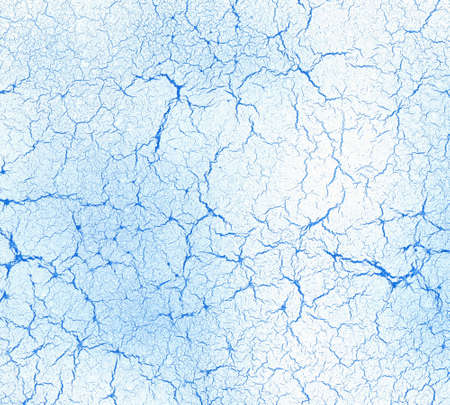veiny: blue abstract fine fissured background