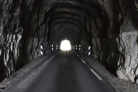 motorcars: simple tunnel for motor-cars in norway, europe