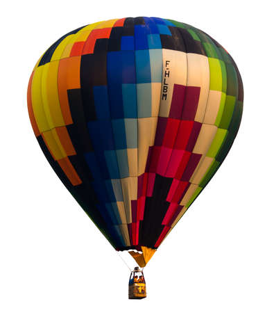 whitebackground: Balloon colorful in whitebackground and Isolated Stock Photo