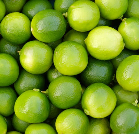 Close up fresh lime for food background
