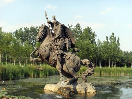 li shimin statue Stock Photo - 10852358
