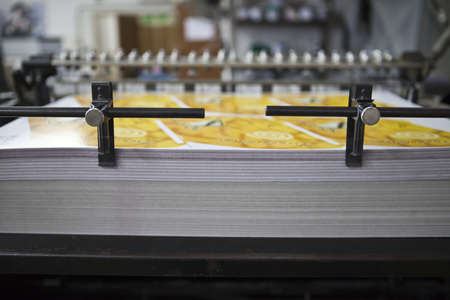 download material for printing presses photo