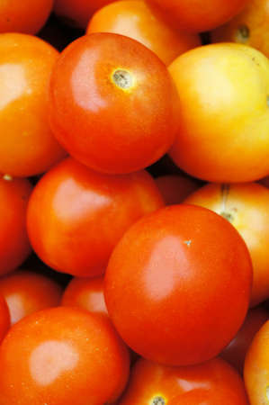 nutritive: Close up fresh tomatoes with nice pattern Stock Photo