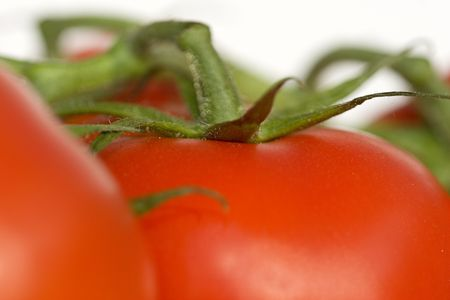 Some tomatoes, in macro view Stock Photo - 219880