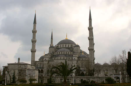 byzantium: Blue Mosque, in Istanbul, Turkey.