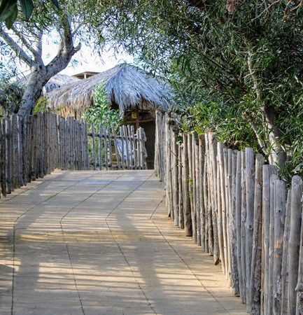 Photography in Tabernas theme park in Spain , Almeria on 30/12/2018