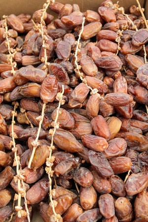 Rich and healthy dates palm fruits of Arab origin