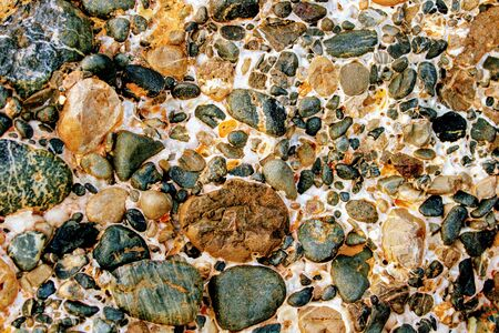 Image for background and texture of stone in brown tones