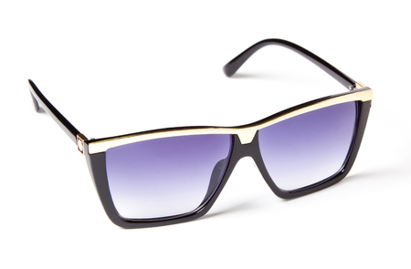 beautiful sunglasses with colored glass