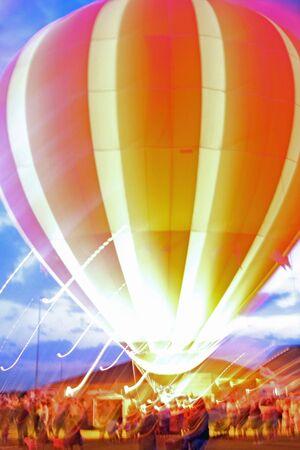 Hot Air Balloon Banco de Imagens - 3480237