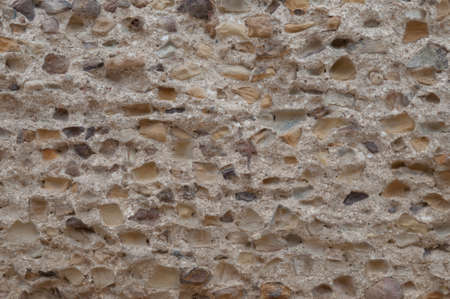 Ancient rustication is intended to backgrounds This wall is from Carthage, Tunisia    photo