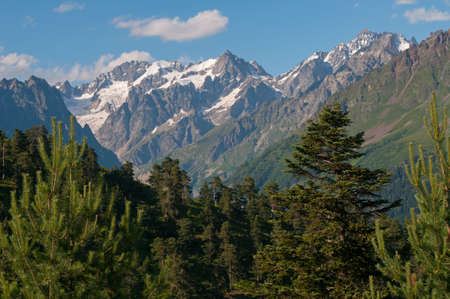 mestia: Caucasus Mountains - Georgia, Mestia region.