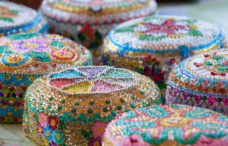 skullcap: These are tataric souvenirs  - traditional hats (Crimea).