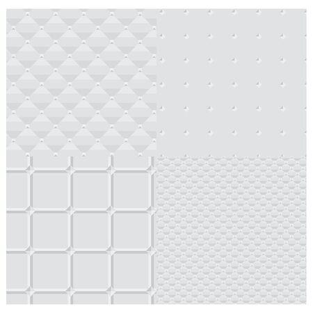 white vector background  pattern Illustration