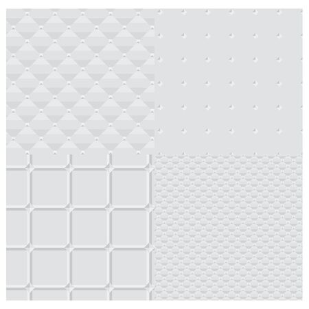 seamless bacground: white vector background  pattern Illustration