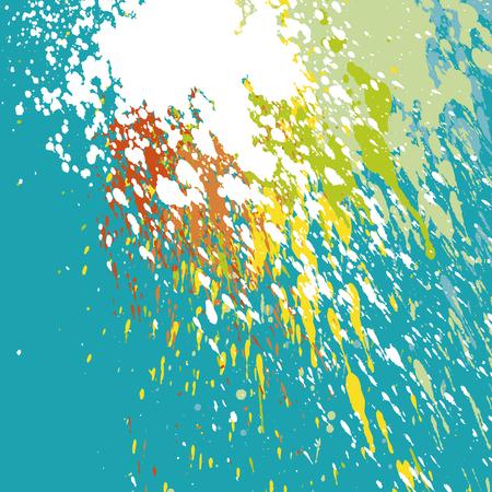 scrawl: vector illustration of paint splash