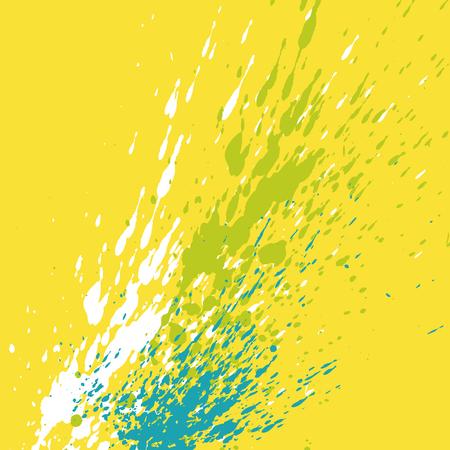 scrawl: ilustración vectorial de salpicaduras de pintura