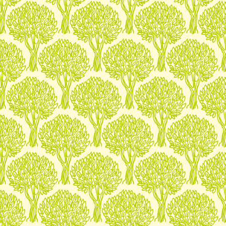 green olive: green  olive tree semless pattern
