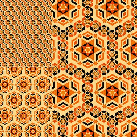 italian tradition: mosaic Italian seamless pattern