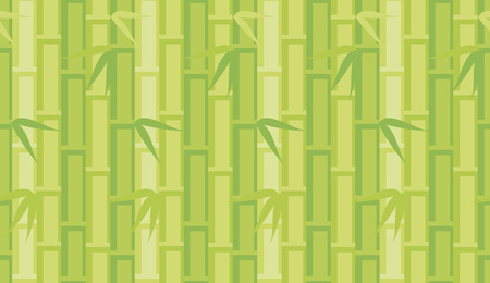 illustration of green abstract bamboo background