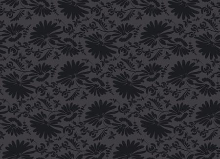 black velvet: black velvet seamless pattern in ar deco style