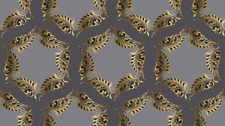 nuvo: Art Nouveau style round pattern illustration