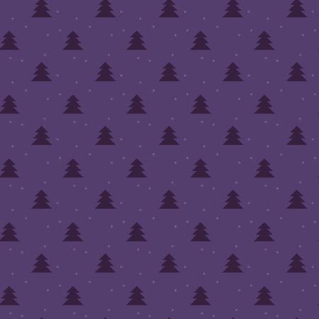 nuance: Simple elegant Christmas vector seamless pattern with little trees and snow. Xmas abstract texture. Christmas pattern. Christmas trees. Wrapping paper with snowflaks and trees.