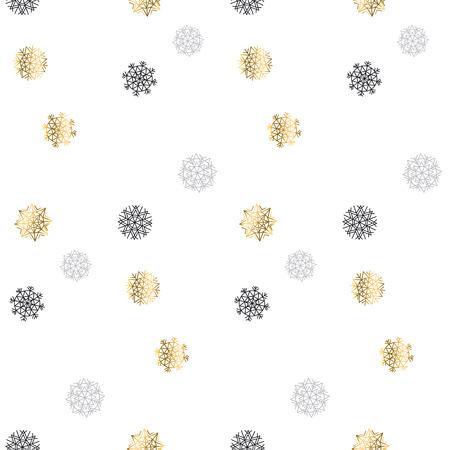 christmas motif: Christmas backdrop. Winter pattern. Season vector illustration. elegant fancy light Snowflake motif. Flake of snow seamless pattern. Snow geometry background. Xmas background.