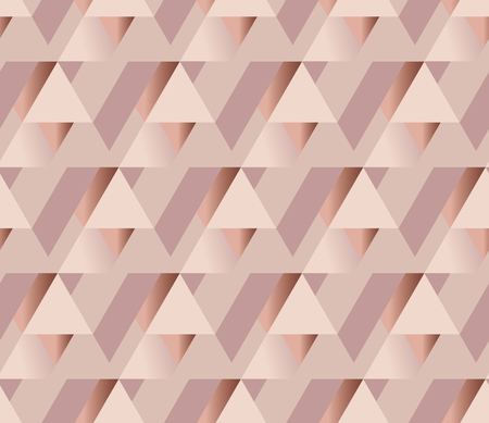 copper metal texture vector background. luxury festive surface backdrop. geometry metal shining background. rosy tender elegant abstract repeatable motif. pale color feminine wallpaper illustration.