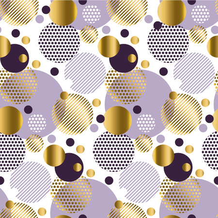 knightly: Xmas seamless dots modern pattern. white background geometry circle color seamless fabric sample. geometric pattern swatch vector illustration