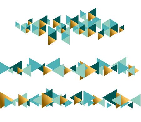elegant abstract geometry pattern. elegant concept xmas vector illustration& border, header, banner festive element set.