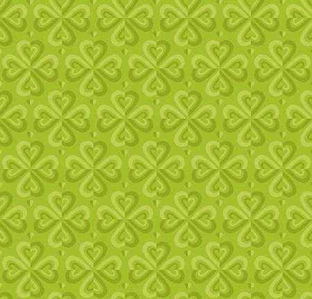 vector illustration of green geometry pattern