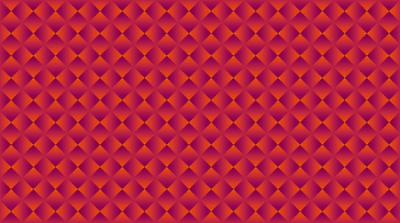 geometric abstract vector seamless pattern for surface design. bright red square shape repeatable motif for background