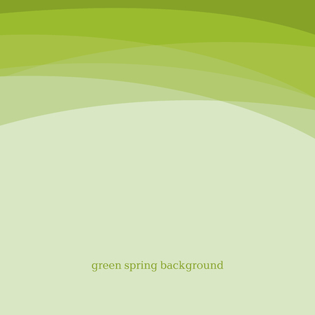 Abstract green color modern background design. Vector abstract illustration for header, caver, card, print and web design.