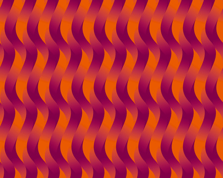 red wave geometry seamless pattern