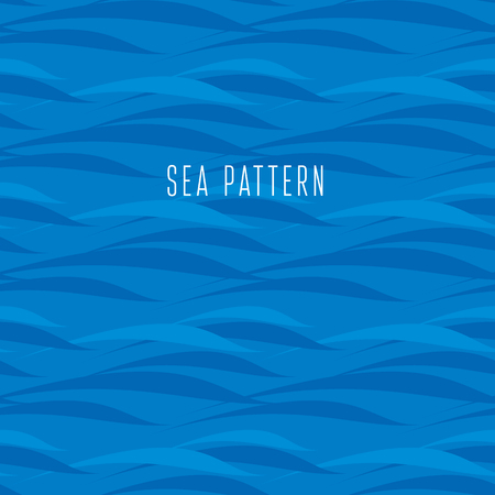 seamless water pattern. vector illustration