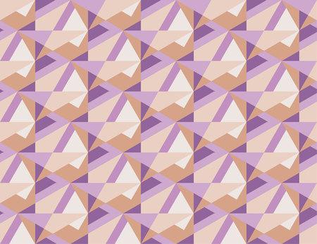 geometry pale colr modern pattern. seamless pattern vector illustration Illustration
