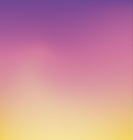 tender sunrise color smooth gradient Background Wallpaper. Vector illustration element for design project .