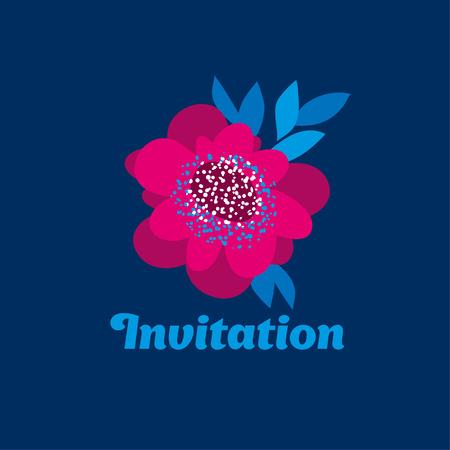 sketch style decorative camellia flower. vector illustration