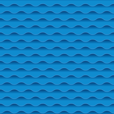 blue sea water abstract geometry seemless pattern. water wave background. vector illustration. element for design.
