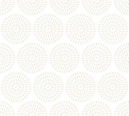 Abstracte rijst naadloze patroon. vectorillustratie van lichte bleke tedere textuur. beige concept voedsel achtergrond Stockfoto - 81615989