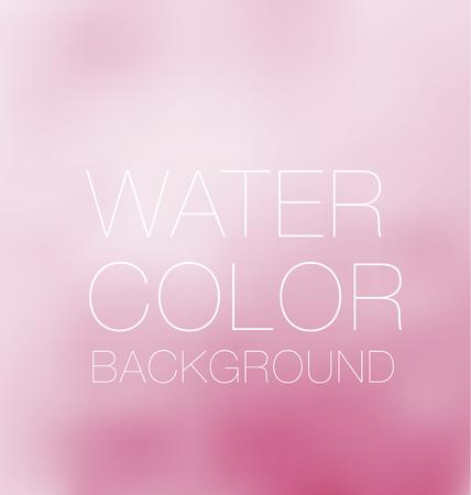 水彩画背景、ベクター背景、デジタル イラストレーション、bluered デザイン要素。  イラスト・ベクター素材