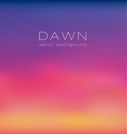 dawning: sunrise pastel pink concept background. dawn vector illustration. color gradient design element. Smooth abstract colorful back.