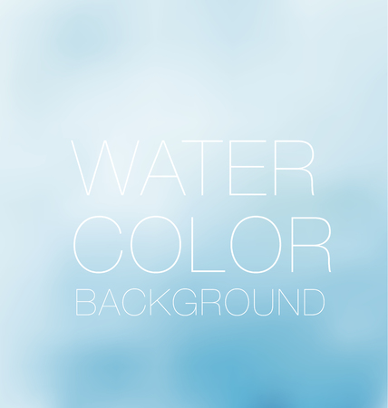 blue sky spot. watercolour background, vector backdrop, digital illustration, bluered design element.