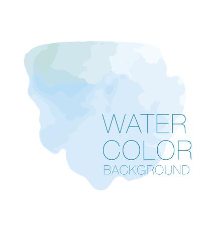 sky blue watercolour background, vector backdrop, digital illustration, bluered design element. Illustration