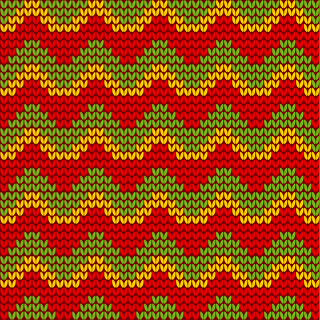 rasta hat: classic reggae color music background. Jamaica seamless pattern poster vector illustration Illustration