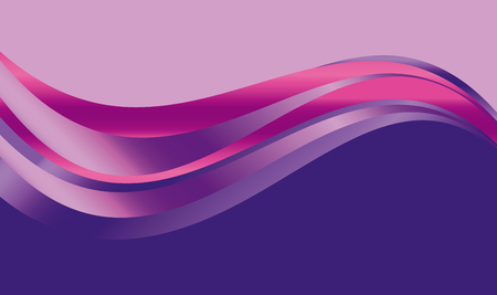 abstract  gradient wave background for web and print. vector illustration for surface design. fluent water luxury pink color element.