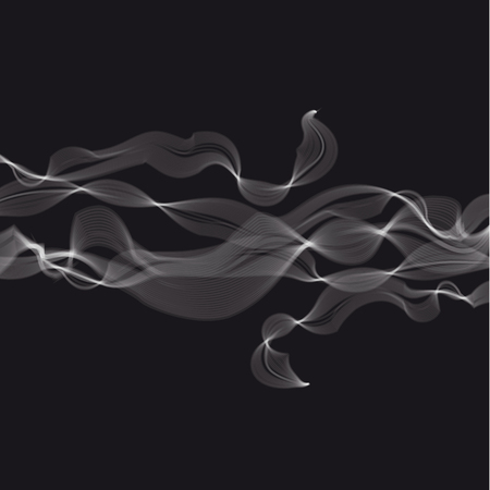 Abstract steam and smoke illustration.