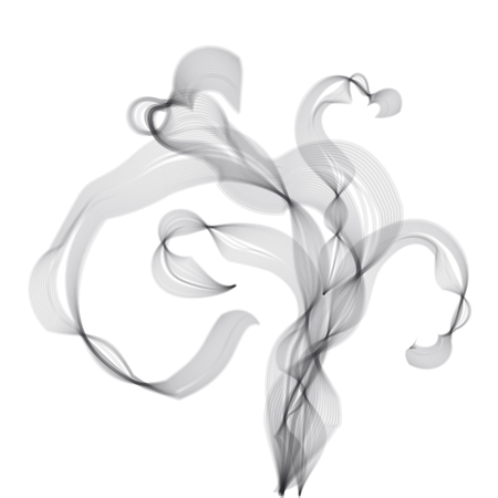 Gray steam icon.